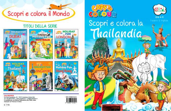 Copertina Scopri e colora la Thailandia